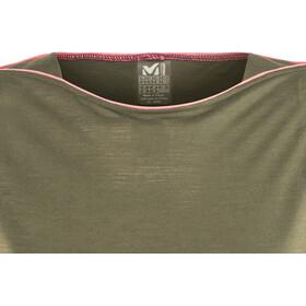 Millet W's Cloud Peak Short Sleeve Shirt grape leaf